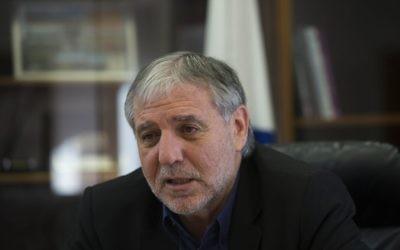 Meir Cohen (Crédit : Yonatan Sindel/Flash90)