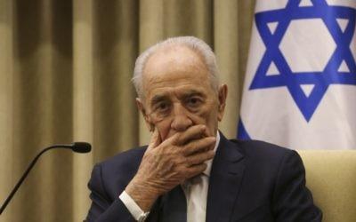 Shimon Peres (Crédit : Hadas Parush/Flash 90)
