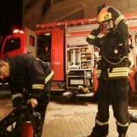 Illustration de pompiers israéliens (Crédit : Kobi Gideon/Flash 90)
