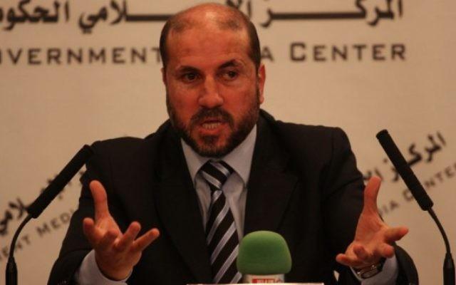 Le ministre des Affaires religieuses de l'Autorité palestinienne, Mahmoud al-Habash. (Crédit : Issam Rinawi/Flash90)