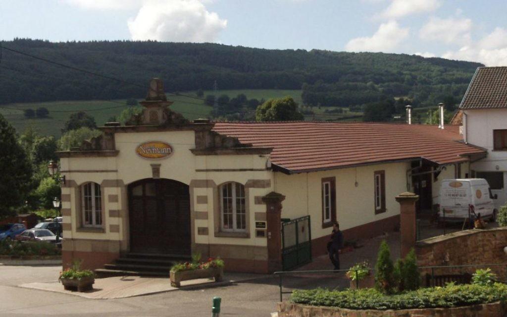 L'usine des Établissements René Neymann située dans la ville alsacienne de Wasselonne (Crédit : Établissements René Neymann)