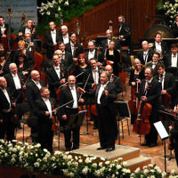 Orchestre philharmonique d'Israel (Crédit : Yeugene/Wikimedia commons/CC BY-SA 3.0)