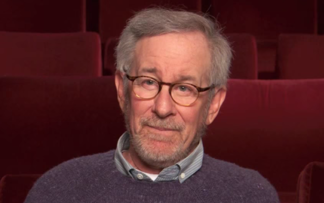 Steven Spielberg (Crédit : capture d'écran YouTube)