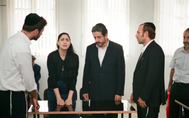 Scène de Guett - Le Procès de Viviane Amsalem (Crédit : autorisation Films Distribution)
