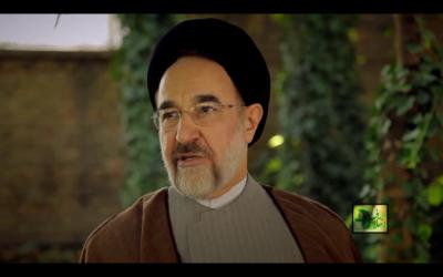 Mohammad Khatami, ancien président iranien, en juin 2013. (Crédit : capture d'écran Youtube/Mehdi Saharkhiz)