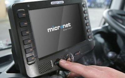 Une tablette Micronet data terminal (Crédit : DR)