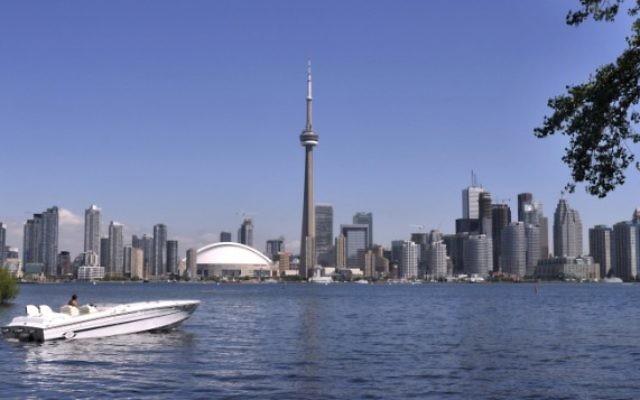 Vue sur la ville de Toronto, Ontario, Canada (Crédit / Serge Attal Flash 90)