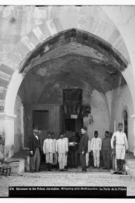 La prison Ribat al-Mansuri, connue sous le nom de Prison Sanguine (Crédit : La Colonie américaine/domaine publique/Library of Congress)