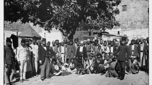 La court de la prison Ribat al-Mansuri, connue sous le nom de Prison Sanguine (Crédit : La Colonie américaine/domaine publique/Library of Congress)