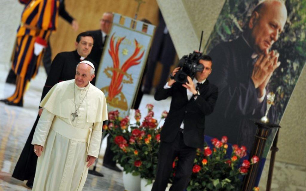 Le pape François (Crédit : AFP)
