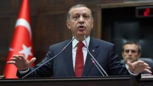 Recep Tayyip Erdogan (Crédit : AFP/STR)