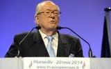 Jean-Marie Le Pen, en mai 2014. (Crédit : AFP)