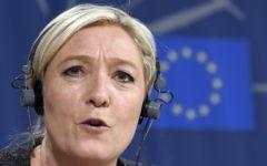 Marine Le Pen (Crédit : AFP)