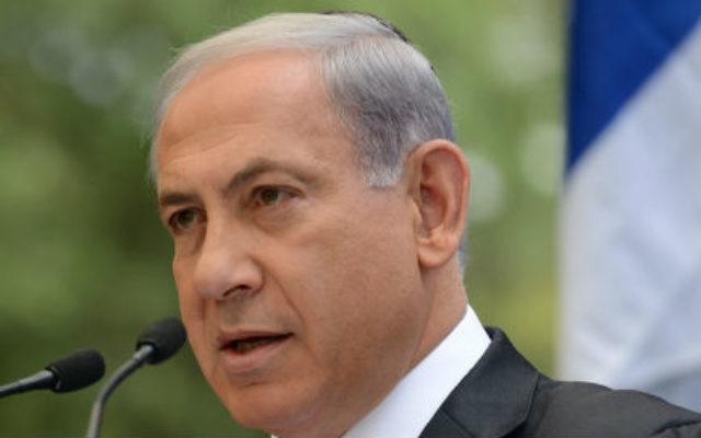 Benjamin Netanyahu (Crédit : Kobi Gideon/Flash 90)