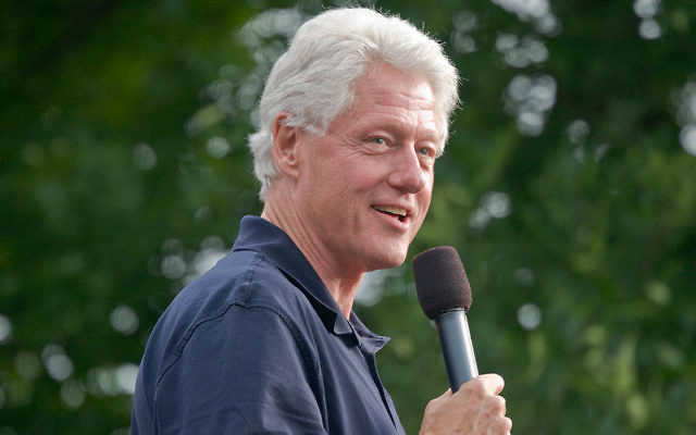 BillClinton en 2007 (Crédit : Roger H. Goun/Flickr/CC BY 2.0)