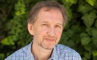 David Horovitz (Crédit : Times of Israël)