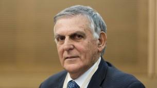 Dan Shechtman, lauréat du Prix Nobel de Chimie 2011 (Crédit  : Flash90)