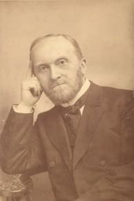 Gustav Dalman, 1901 (Crédit : © DEIAHL, Jerusalem)