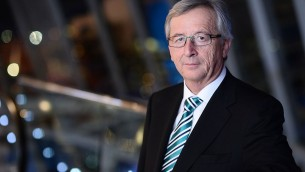 Jean-Claude Juncker (Crédit : CC BY 2.0/Wikimedia commons)