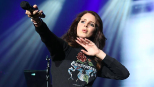 Lana Del Rey se rendra en Israel entre deux représentations (Crédit : autorisation Lana Del Rey - page Facebook Israel)