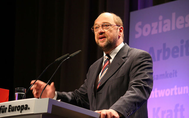 Martin Schulz (Crédit : CC BY SA 3.0/Wikimedia commons)