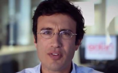 Michaël Boukobza (Crédit : capture d'écran YouTube)