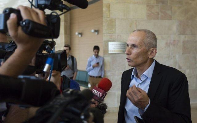 Omer Bar-Lev, député de l'Union sioniste.  (Crédit : Flash90)