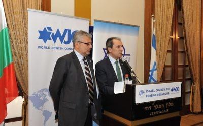 Plamen Oresharski à Jérusalem - 20 mai 2014 (Crédit : Andres Lacko)