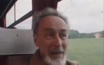 Primo Levi (Crédit : capture d'écran YouTube)