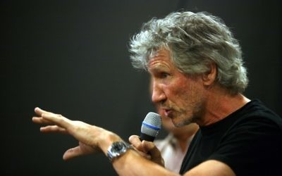 Roger Waters (Crédit : Lior Mizrahi/Flash90)