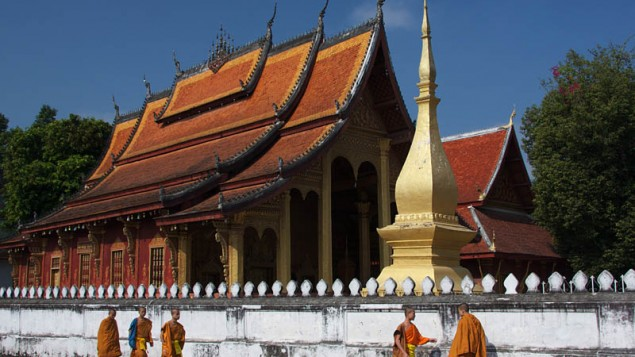 Un Temple au Laos (Crédit : CC BY-SA/Jean-Marrie Hullot/Flickr)