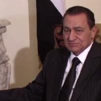 """Hosni Moubarak, ancien président égyptien, renversé en 2011 par une révolution du """"Printemps arabe"""". (Crédit : capture d'écran YouTube)"""