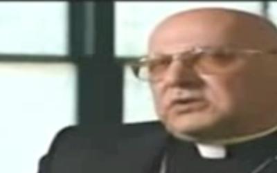 Mgr Michel Sabbah (Crédit : capture d'écran Daily Motion)