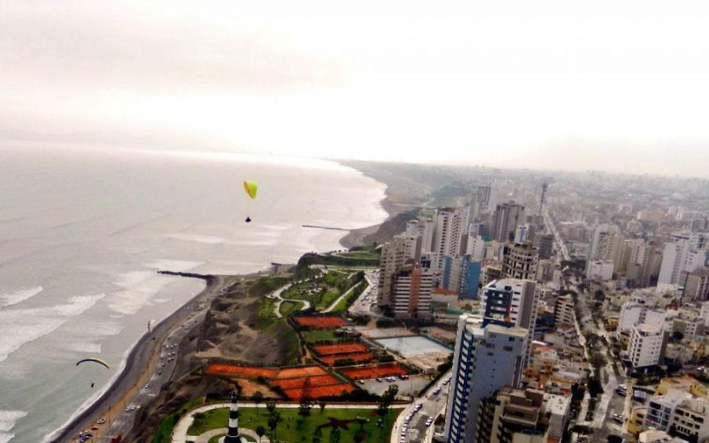 Vue sur Lima, Pérou (Crédit : CC BY.SA/Imperial94/Flickr)