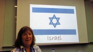 Sheri Oz (Crédit :Debra Kamin/Times of Israel)