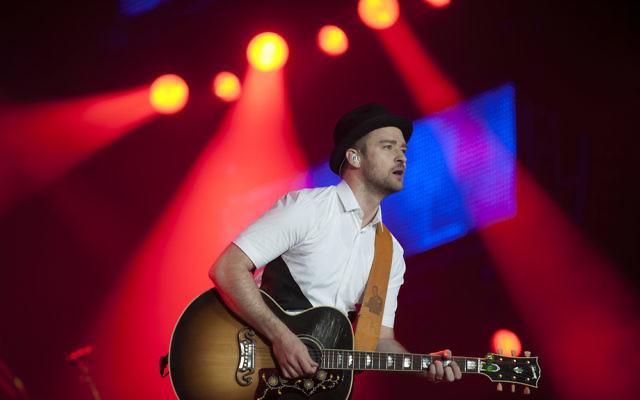 Justin Timberlake (Crédit : via Shutterstock) Antonio Scorza / Shutterstock.com