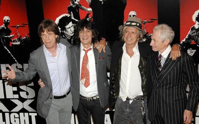 Les Rolling Stones (Crédit : via Shutterstock)