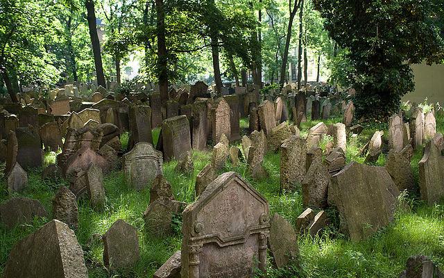Le vieux cimetière juif de Prague (Photo : Flickr -autorisation)