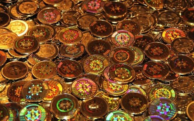 Monnaie représentative du Bitcoin (Crédit : autorisation)