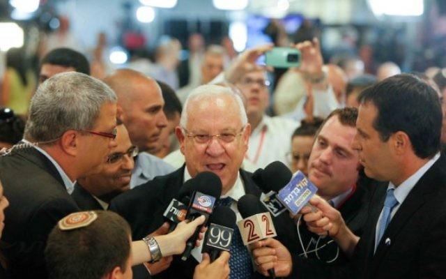 Reuven Rivlin, président nouvellement élu de l'Etat hébreu (Crédit : Flash 90)