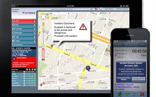 Transformer un smartphone en un avertisseur de kidnapping (Crédit : autorisation)