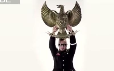 Capture d'écran du clip indonésien controversé (Crédit : YouTube)
