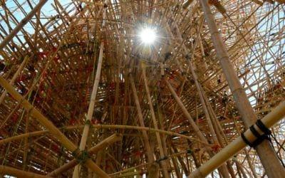 L'intérieur du Big Bambù (Crédit : Zoe Vayer/Flash 90)