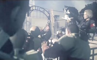 Capture d'écran d'une scène du jeu vidéo réalisé par Bethesda Softworks (Crédit : Autorisation : Bethesda Softworks)