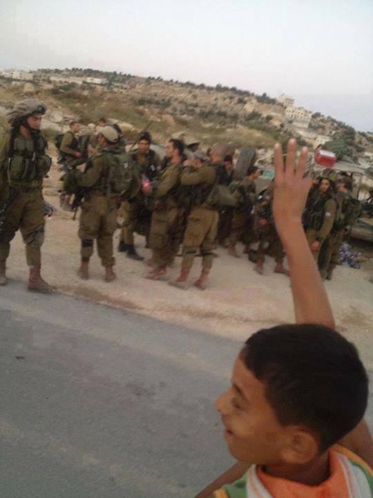 Tweeted by Al Quds, Palestine