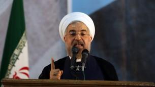 Hassan Rouhani (Crédit : AFP/ATTA KENARE)