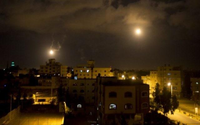 Gaza (Crédit : AFP/Mahmud Hams)