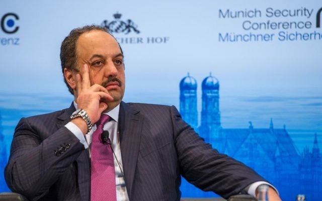 Khalid bin Mohammed al-Attiyah (Crédit : Mueller/MSC)