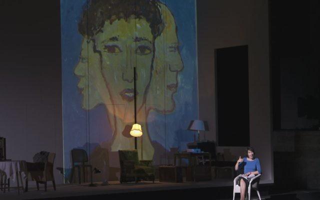 Charlotte Salomon joué par Wokalek ( Crédit : Salzburger Festspiele / Ruth Walz)