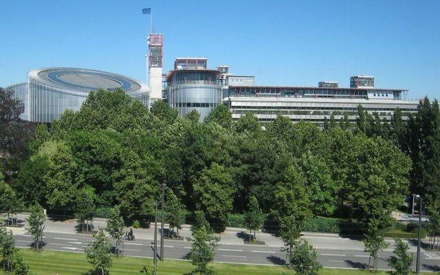 Cour européenne des droits de l'homme à Strasbourg (crédit : Sfisek/wikicommons)